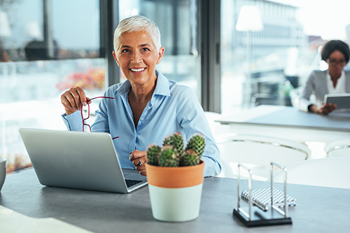 Picture of mature business woman